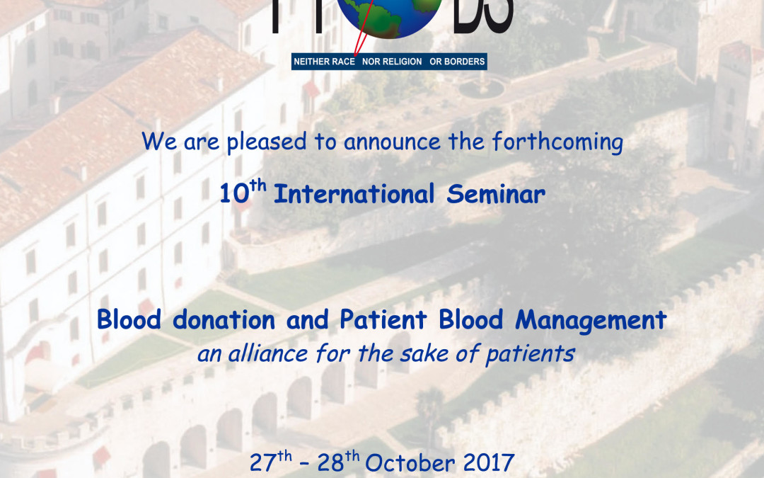 10° International Seminar – Blood donation and Patient Blood Management