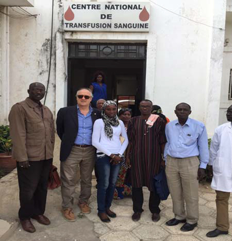 VISIT OF THE PRESIDENT OF FIODS IN SENEGAL