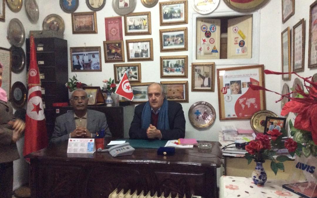 Il Presidente della FIODS in visita ufficiale a Tunisi 19-20-21 gennaio 2015