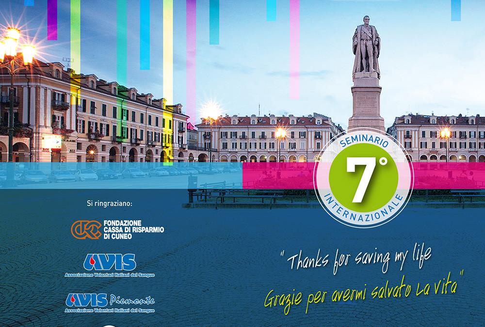 7 International Seminary – Cuneo 13-06-15