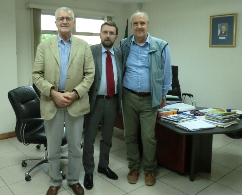 Meeting with the Italian Ambassador in Guatemala