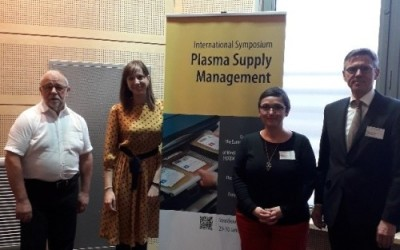 International Symposium on Plasma Supply Management – Strasburgo, 29-30  Jaunary 2019