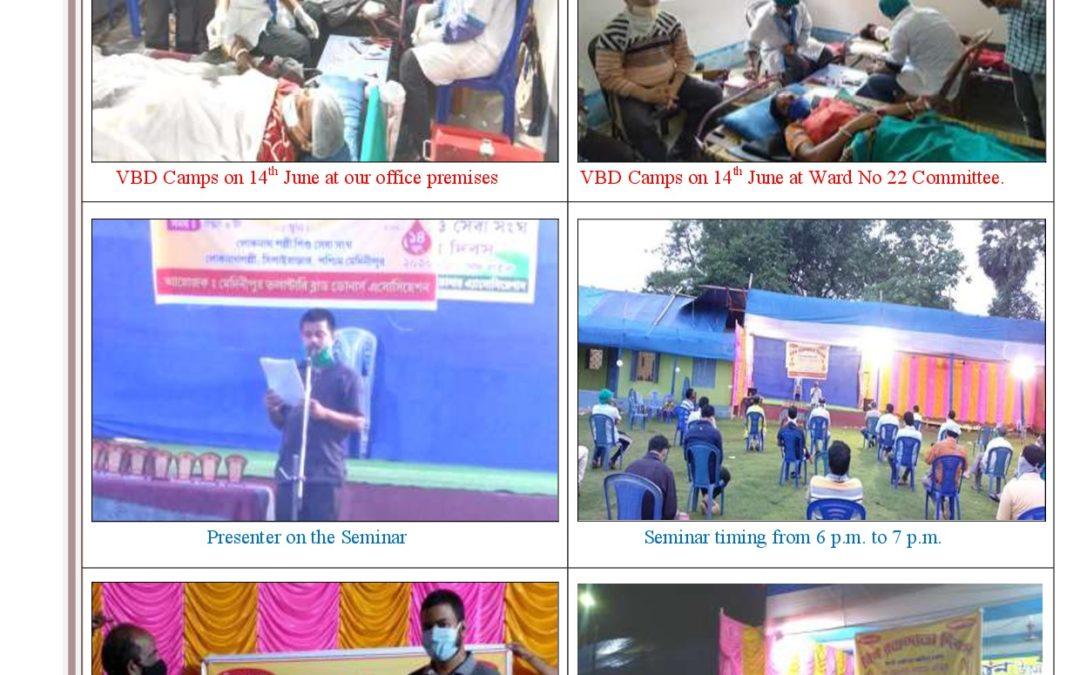 Medinapur voluntary blood donors'association