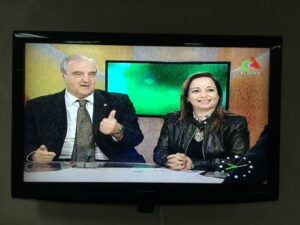Interview of the President Massaro, to Algeria with the head of the National Blood Center